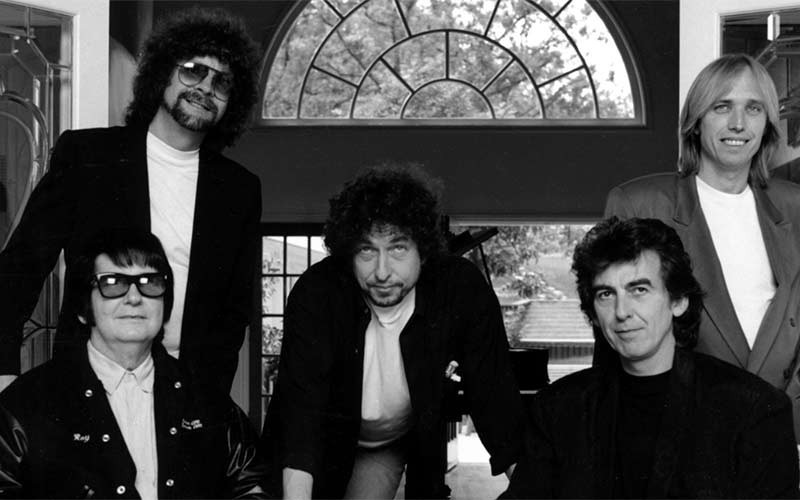 Classic rock supergroup the Traveling Wilburys
