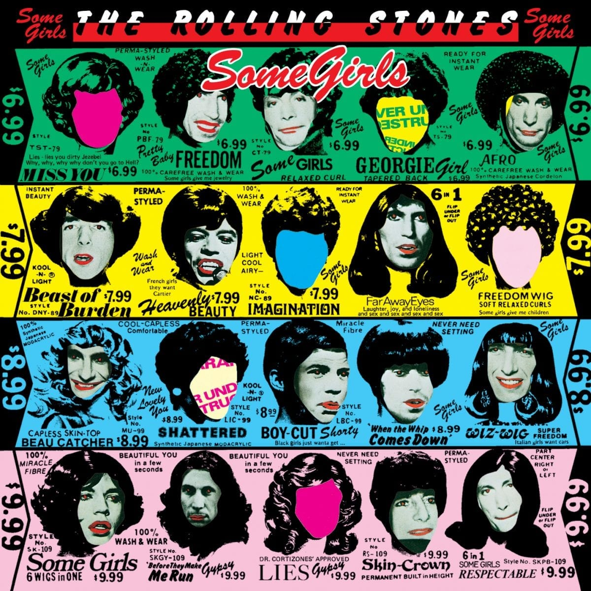 Rolling Stones Some Girls cover