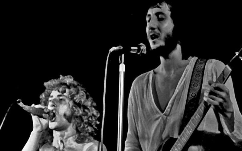 Roger Daltrey and Pete Townshend of The Who