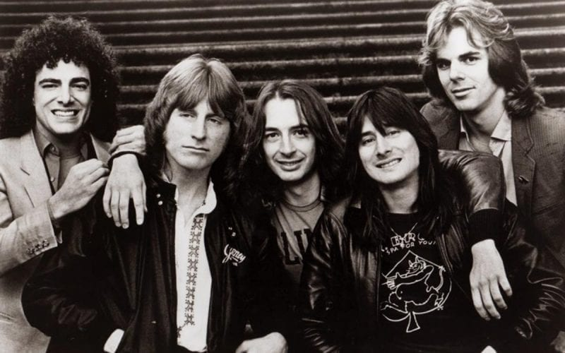Rock band Journey in 1981