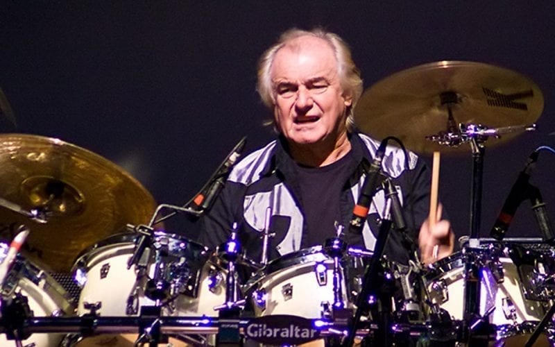 Alan White with Yes in 2010