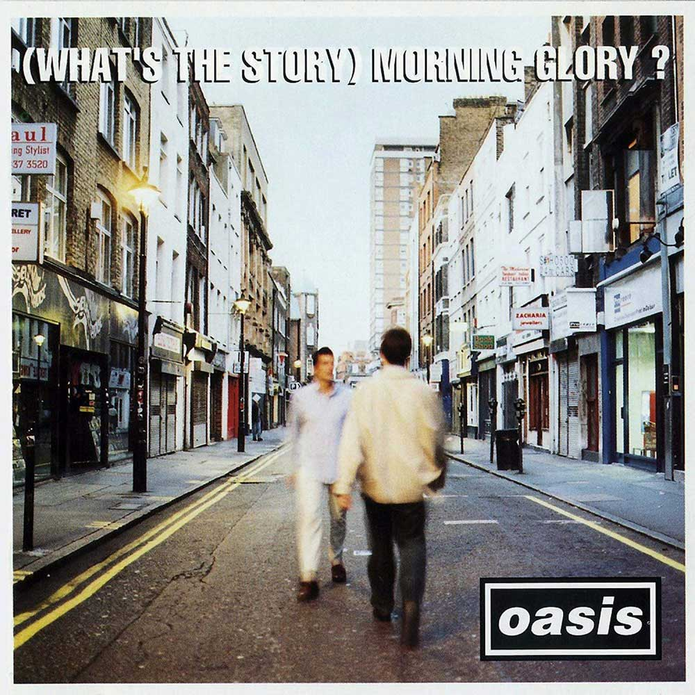 Oasis Whats the Story Morning Glory album cover